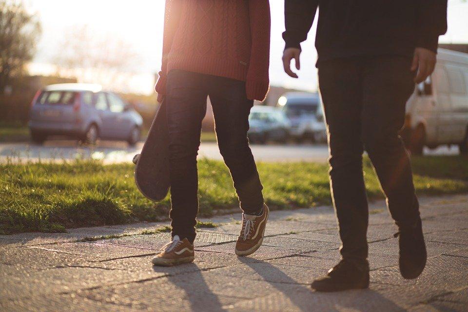 než začnete chodit
